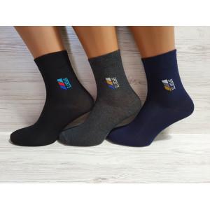 KS1168. Подростковые хлопковые носки, средней высоты, Neco