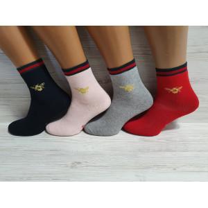 KS1191. Детские махровые носки, средней высоты, IDS.