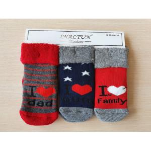 KS1270. Детские махровые носки с отворотом, Inaltun.