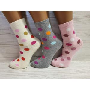 KS1281. Детские махровые носки средней высоты  Inaltun