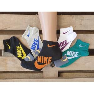 MS1074. Мужские короткие, хлопковые носки, Nike.