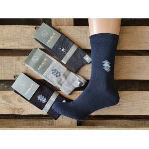 MS1005. Мужские высокие, демисезонные носки, Ascelik.