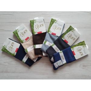 MS1178. Мужские высокие, бамбуковые носки, Z&N.