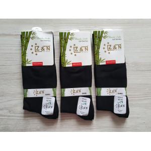 MS1177. Мужские высокие, бамбуковые носки, Z&N.