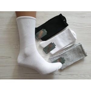 MS1007.Мужские высокие, хлопковые носки, Корона