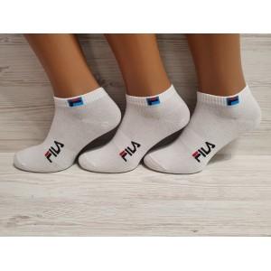 MS1038 . Мужские хлопковые, короткие носки, Fila.