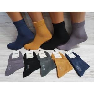 MS1061. Мужские хлопковые носки, средней высоты, Ласточка.