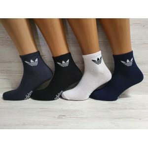 MS1106. Мужские хлопковые носки. средней высоты, Adidas.