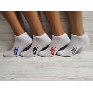 MS1129. Мужские хлопковые, короткие носки с сеткой, Nike