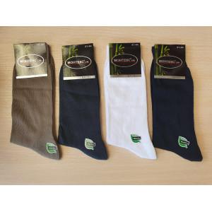 MS1176. Мужские высокие, бамбуковые носки, Monteks.