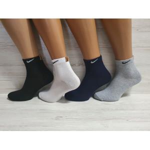 MS1173. Мужские хлопковые носки, средней высоты, Nike.