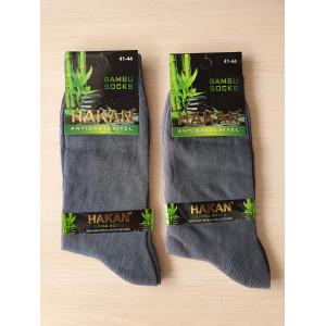 MS1183. Мужские высокие, бамбуковые носки, Hakan.