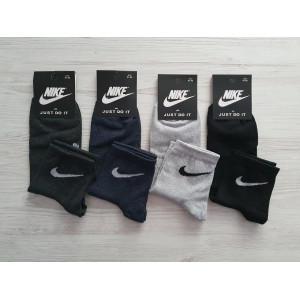 MS1187. Мужские хлопковые носки, средней высоты, Nike.