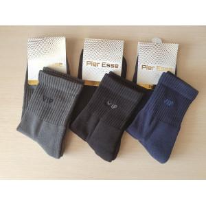 MS1219. Мужские носки, средней высоты, с махровой стопой, Pier Esse.