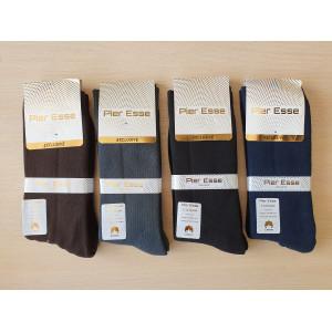 MS1218. Мужские высокие, махровые носки, Pier Esse.