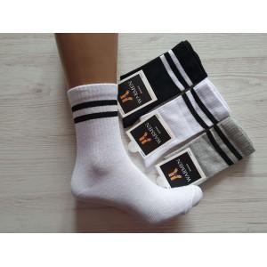 WS1012. Подростковые высокие, хлопковые носки, Warmen.