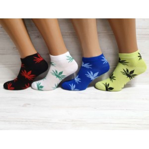 WS1124 Женские хлопковые, короткие носки, Inaltun.