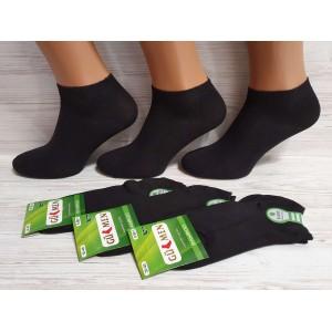 WS1015. Женские короткие, бамбуковые носки, GUMEN.
