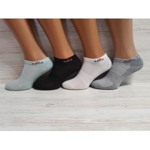 WS1046. Женские хлопковые, короткие носки с сеткой, Reebok