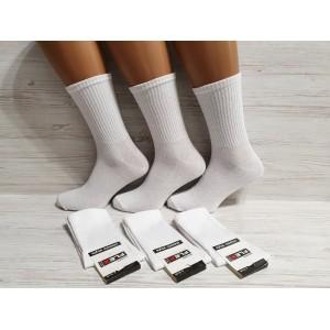 WS1088. Женские хлопковые, высокие носки, Flex.