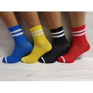 WS1084. Женские хлопковые, высокие носки, Nilado.