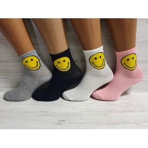WS1085. Женские высокие, хлопковые носки, Nilado.