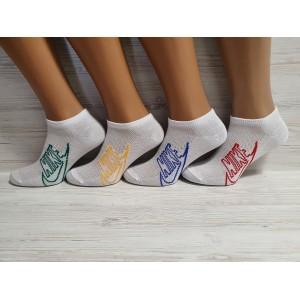 WS1130. Женские хлопковые, короткие носки, Nike.