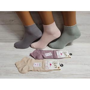 WS1146. Женские короткие носки, Z&N modal.