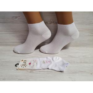 WS1160. Женские короткие, однотонные носки, Z&N modal.