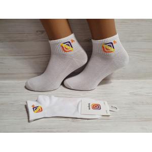 WS1170. Женские хлопковые, короткие носки,  Instagram