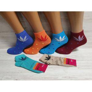 WS1174. Женские хлопковые носки, средней высоты, Житомир.
