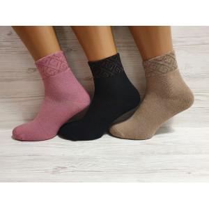 WS1215. Женские махровые носки, средней высоты,  Pier Esse.