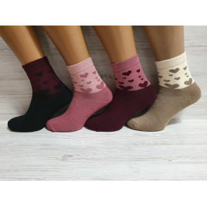 WS1214. Женские махровые носки, средней высоты, Pier Esse.